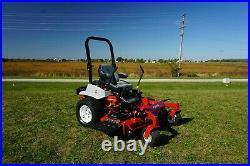 New Exmark Lazer E Series 60 Zero Turn Mower, Suspension Seat, 747cc Kohler Gas