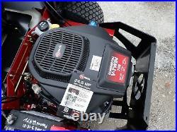 New Exmark Radius E-sereis 48 Zero Turn Mower, 24.5 HP V Twin, 8 Mph Top Speed