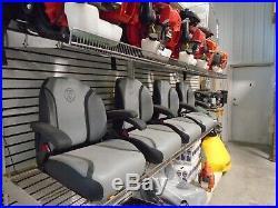 New Exmark seat taken off Exmark model Radius E Zero Turn Mower Part #126-8290