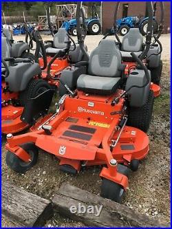 New Husqvarna MZT52 -23hp Kohler 52 Deck. Commercial Zero Turn Lawn Mower