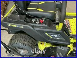 RYOBI 42 in. 75 Ah Battery Electric Riding Zero Turn Mower RY48ZTR75