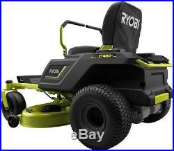 RYOBI 42 in. 75 Ah Battery Electric Zero Turn Mower Heavy Duty Steel Deck New