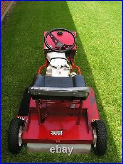 Rare Vintage Swisher 3 wheel ride king zero turn riding mower