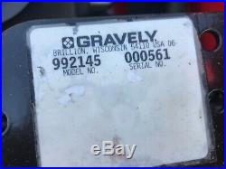 Reconditioned 2006 Gravely 260z Zero Turn Mower 60 Deck 27hp Kohler 992145
