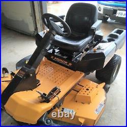 Reduced Price 2013 Cub Cadet Zero Turn Mower with Steering Wheel