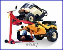 Riding Lawn Mower Jack Garden Tractor Maintenance Lift Zero Turn 450lb Capacity