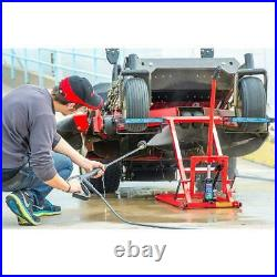 Riding Lawn Mower Jack Lift Hydraulic Zero Turn Garden Tractor Lifting Equipment