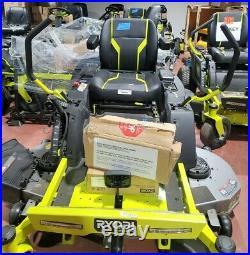 Ryobi 54in. 115 Ah Battery Electric Zero Turn Mower RY48140 ZT540E Salesman samp