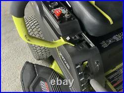 Ryobi RY48ZTR100 Zero Turn Riding Lawn Mower READ DESCRIPTION