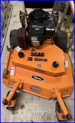 SCAG 36 Advantage Walk Behind Zero-Turn Lawn Mower
