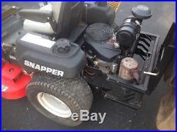 SNAPPER 48 Zero Turn LAWNMOWER MOWER 19HP KAWASAKI GIANT VAC BAGGER GRASS LEAF