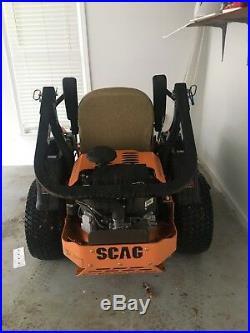 Scag 52 Tiger Cat Zero Turn Mower