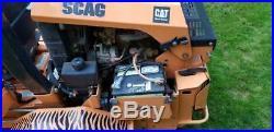 Scag 61 zero turn mower CAT diesel / only 470 hours / needs some work