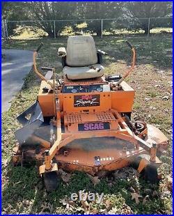 Scag Zero Turn 61 deck mower 23 HP Koehler Super Z