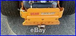 Scag zero turn mower 61 Wildcat with liquid cooled engine