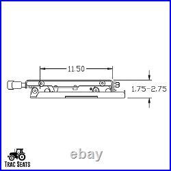 Seat Suspension Kit for Kubota Z200 Z231 Z251 Z400 Z411 Z421 Zero Turn Mower ZTR