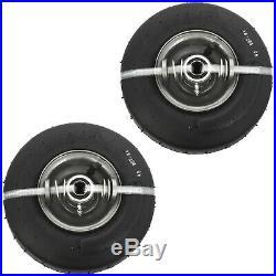 SureFit 9 Front Pneumatic Wheel Tire Assembly Zero-Turn Mower 9 X 3.50-4 2PK