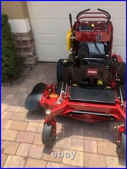 TORO GRANDSTAND 48 cut zero turn mower 23hp Kohler EFI NEW with warranty