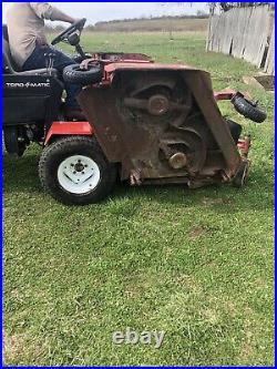 TORO GROUNDSMASTER 455 D Zero Turn Lawn Mower