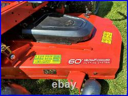 TORO TimeCutter 60 Commercial 24.5 HP V-Twin Zero-Turn Riding Mower ONLY 21 HRS