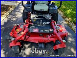 TORO Z Master Z580 Zero Turn Lawn Mower 29HP Kawasaki GAS 1084Hrs 60 Deck 74253