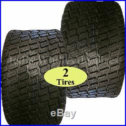 TWO 23x9.50-12 TIREs for Zero Turn Riding Lawn Mower Garden Compact Tractor 6ply