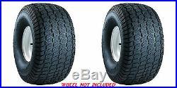 (TWO) 24x12-12 24X12.00-12 4PR Zero Turn Lawn Mower Tires Dixie Chopper Bad Boy