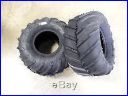 TWO New 21X11.00-8 Carlisle AT101 Chevron Tires Zero Turn Mowers 21X11-8