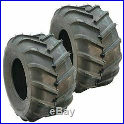 TWO New 21x11.00-8 4P 22 MAG Shevron Lugs PAIR 21x11-8 21x11-8 Zero Turn ATV
