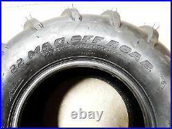TWO New 22X11.00-10 OTR 22 Mag Zero Turn Mower Tires 22X11-10 some Grasshopper