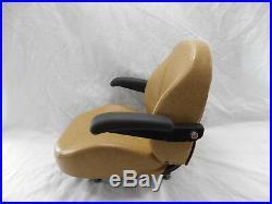 Tan / Brown Ultra Standard Seat C1110 Fits Scag Zero Turn Mowers #ust