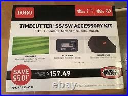 Toro 133-4339 TimeCutter 42 50 Zero Turn Mower Striping Kit Cover Hour Meter