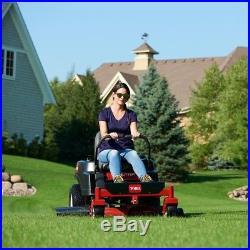 Toro 42 Gas Zero-Turn Riding Mulch Mower Dual Hydrostatic Antivibration Handle