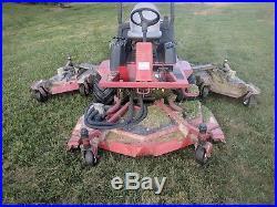 Toro Groundsmaster 4000D Turn Mower 4x4