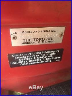Toro Z Master 325 Model Commercial Zero Turn Nice Mower Deck needs Work 25hp