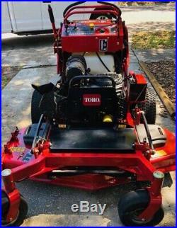 Toro grandstand commercial zero turn lawn mower
