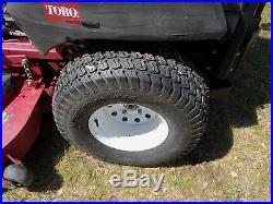Toro z master diesel lawn mower