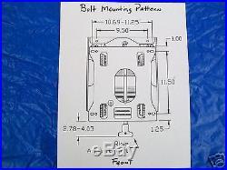 Universal Seat Suspension For Most Brands Ztr Zero Turn Mowers Deere, Exmark #fd