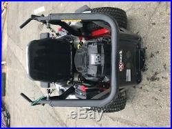 Used Exmark Radius 48 zero turn rider