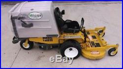 Walker MCGHS zero turn mower