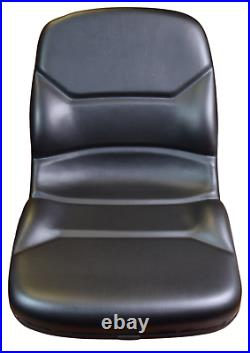 Walker Zero Turn Mower Seat High Back Black AGCO Cub Cadet