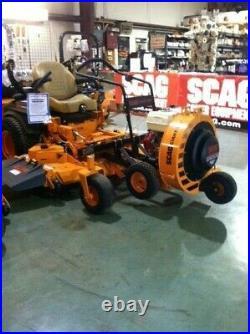 Wonder Hitch, push blower mount for zero turn mowers
