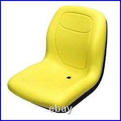 Yellow Seat Fits John Deere Zero Turn Mower Z Trak M653 M655 M665 717A 727A