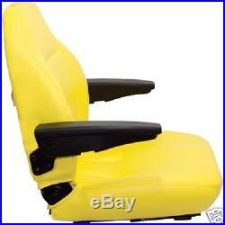 Yellow Seat John Deere F620, F680, F687,717a, 727a, 737,757, Z Trak Ztr Mower #jk