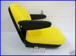 Yellow Seat Kubota, Hustler, Exmark, Toro, Bobcat, Bunton, John Deere Zero Turn Jd #kb