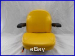 Yellow Ultra Standard Seat C1110 Fits John Deere Ztr Zero Turn Mowers #usy