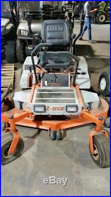 Z-Beast 62 Zero Turn Lawn Mower, 31 Hp Kawasaki Engine, 82 Hrs, Bad