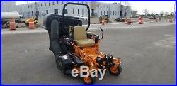 Zero TURN SCAG Tiger Cub Mower 24hp 375hrs GRASS CATCHER municipal owned CLEAN