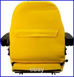 Zero Turn Turf Lawn Mower Seat with Armrests John Deere